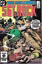 Sgt. Rock Comic Book #387, DC Comics 1984 NEAR MINT