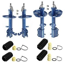 Monroe Front and Rear Struts with Bellows Kit For Chevy Geo Prizm Toyota Corolla