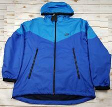 NIKE Packable Windrunner Full Zip Jacket Blue 917809 435 MSRP$100 - Men M NEW