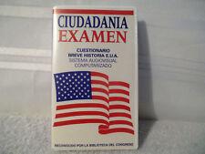VHS Tape Ciudadania Examen Cuestionario Breve Historia E.U.A. 35 Minutes
