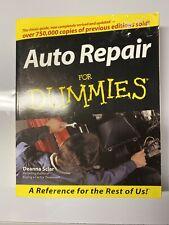 Auto Repair for Dummies® by Deanna Sclar 1999 Paperback Book