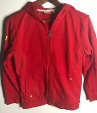 Puma Ferrari Boys Red Hoodie Size Medium Red