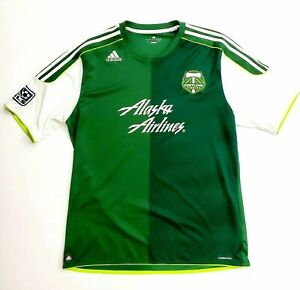 Portland Timbers Adidas Authentic XXL Jersey 2012 ClimaCool