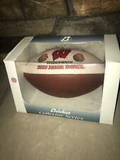 Wisconsin Badgers 2000 Rose Bowl Collector Football Nib Baden Series Full Size