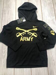 New Nike Youth Army Black Knights Football Jersey Size Kids Medium Black Yellow