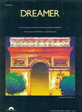 "SUPERTRAMP ""DREAMER"" PIANO/VOCAL/GUITAR SHEET MUSIC 1974 COLLECTORS ITEM RARE!!"