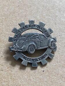 VW Pin Badge Stadt Der Kdf Wagens Fallersleben Wolfsburg July 1938