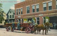 ELIZABETH NJ - Firetruck No. 2 Truck Company and Firehouse