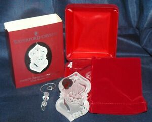 2004 Annual Waterford Crystal Songs of Christmas Collection Ornament #9 NIB