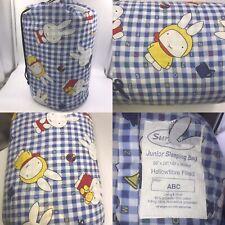 Miffy Rabbit Childrens Junior Hollowfibre Filled Sleeping Bag 142 X 66cm