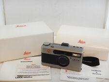 Leica Minilux Summarit 40mm f2.4 Point&Shoot + Manuals + BOX MINT Condition