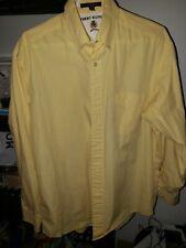 Tommy Hilfiger 90's Shirt Yellow Size 15 1/2 1997