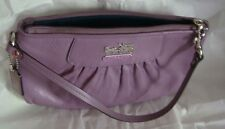 COACH Signature Pleated Wristlet MADLTH CPSTY WRL (pre-loved)