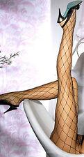 SeXy Netzstrumpfhose SEHR großmaschig S, M, L schwarz Gothic Nylon