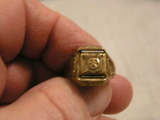 1942 CAPTAIN MIDNIGHT SECRET COMPARTMENT ADJUSTABLE RING