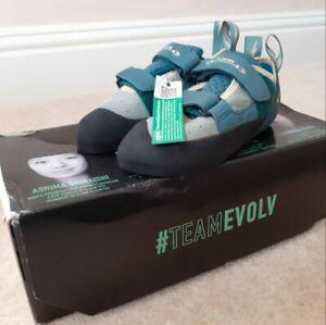 Evolv Elektra Ladies climbing shoes jade/Seapine - UK size 2.5