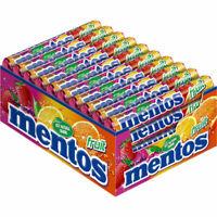 Mentos Fruit Rolle, Frucht, Kau-Bonbon, Dragee, 40x38 g Rl.