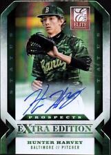 ET 2013 Elite Extra Edition Signature Status Emerald #115 Hunter Harvey #23/25