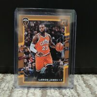 2017-18 Lebron James Panini Donruss Card Cavaliers NBA #27