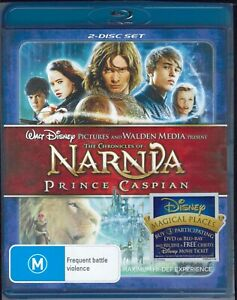 The Chronicles of Narnia Prince Caspian Blu-Ray Movie FREE POSTAGE!