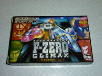 "GBA F-ZERO Climax F/S ""Japan ver."" Play tested. Gameboy advance Japanese F/S"
