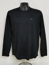 Oregon Ducks Lacrosse Nike Team Issued Long Sleeve Dri-Fit Shirt Men's M