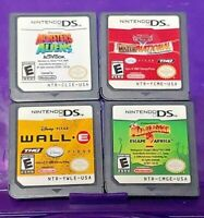 Disney Monsters Aliens Cars Mater Wall E Madagascar Nintendo DS Lite 2ds 3ds Lot