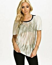NATURAL WHITE OVERSIZE TOP, B.YOUNG SIZE XL / UK 14-16, RRP £34.99, LT268