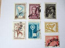 Briefmarken Argentinien   alte Marken    gestempelt