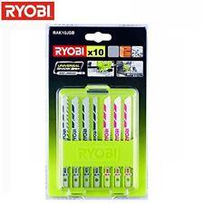 Sägeblätter für Stichsäge Stichsägeblätter RYOBI ONE+ R18JS 0 CJS180 LM 10-tlg.