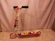kids Fuzion Kick scooter with digital speedometer speed o meter red used