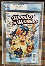 Wonder Woman 1 Adam Kubert Variant 1B PGX 9.6 2006