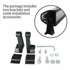 Universal Brackets Mounting Base Bracket for LED Light Bar Side Mount Bracket x2