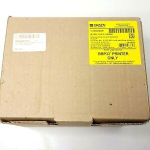 Brady B33D-125-2-342BK Permasleeve Two-Sided Polyolefin, Wire Marking - Black