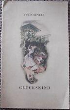 Glückskind Märchen 1948 Sagen Bilderbuch Kinderbuch Jugendbuch Geschichten L