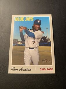 2019 Topps Heritage High Number ALEN HANSON Short Print #716 *BLUE JAYS SP