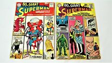 Superman 80 Page Giant Annual No.1, 1964-3 Book Lot