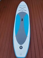SereneLife Inflatable Stand Up Paddle Board (6 Inches Thick) Universal SUP Wide