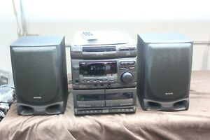 Aiwa CX-NV20U Compact Disc Stereo System With Remote & Manual