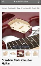 Stew Mac Neck Shim For Guitar Shaped 1 Degree