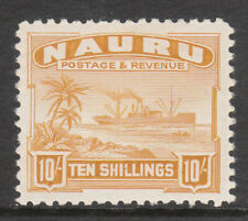 NAURU 1937 #39b MINT GV1 SHIP STAMP
