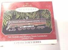 Hallmark 1999 -  Lionel - 746 Norfolk and Western Steam Locomotive  -  B028-4