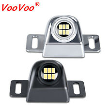 2Pcs LED Backup Reverse Work Light Fog Light Super Bright 6 LEDS - Silver