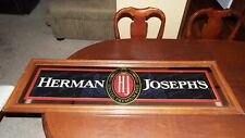 VINTAGE HERMAN JOSEPH'S SPECIAL PREMIUM BEER LARGE FRAMED MIRROR/SIGN