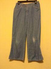 J Jill Women Blue Cropped Jeans Size 4 Waist 29 Inseam 24