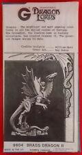 Grenadier Dragon Lords - 9604 Brass Dragon II-Special Box (MIB, Sealed)