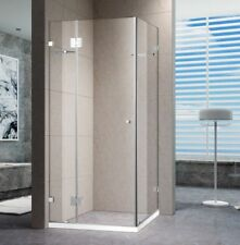 1200x1200 SQUARE PIVOTING DOOR FRAMELESS SHOWER SCREEN 10MM GLASS