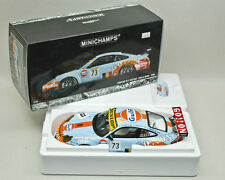 MINICHAMPS 1:18 'GO!!ON' 'Gulf' 'GO ON' PORSCHE 911 GT3 RSR 24H LE MANS 2006