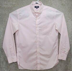 J. Crew Thompson Shirting Dress Shirt Men's Size L 16/16.5