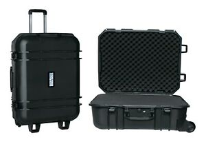 Durabox All Weather Large Travel Rolling Hard Case with Customizable Foam Used